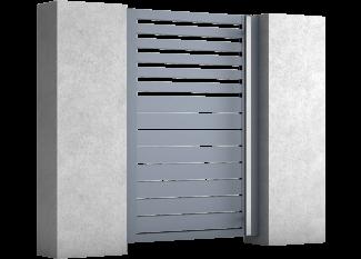 Zaun-Pforten aus Aluminium Breeze