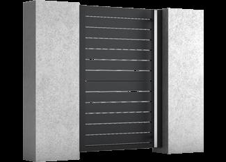 Core - Aluminium Pforten (Gartentüren)