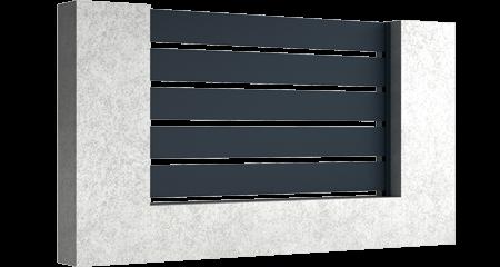 Base - Aluminium Zaunfelder