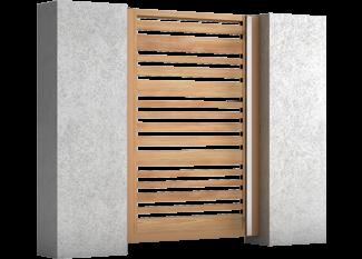 Impressive - Aluminium Pforten (Gartentüren)