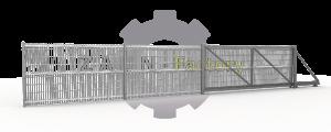 einfachstabmatten zaun factory industriezaun g nstig. Black Bedroom Furniture Sets. Home Design Ideas